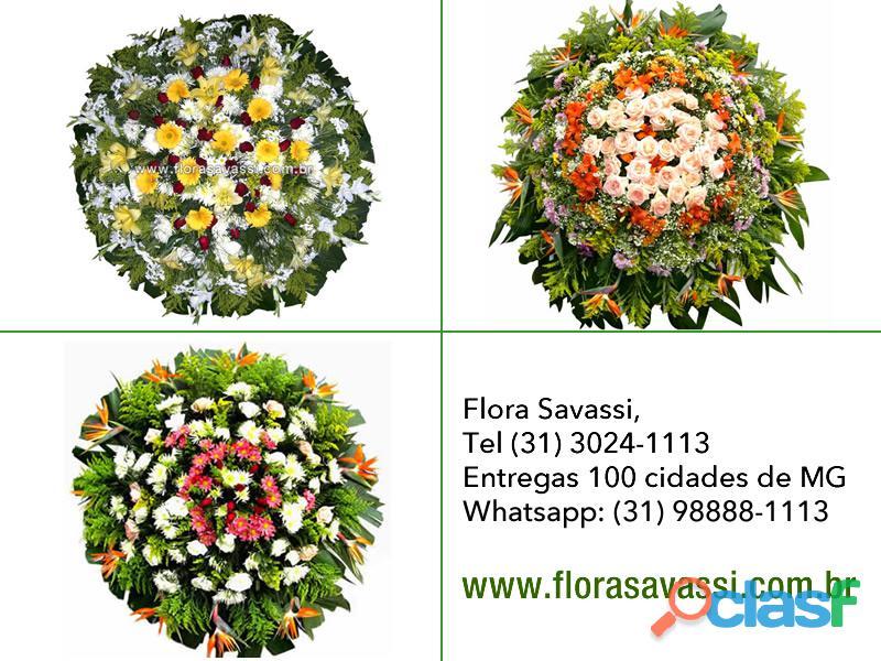 Cemitério da Paz BH Coroas de flores cemitério Paz Belo Horizonte, entrega coroas velório Paz 1