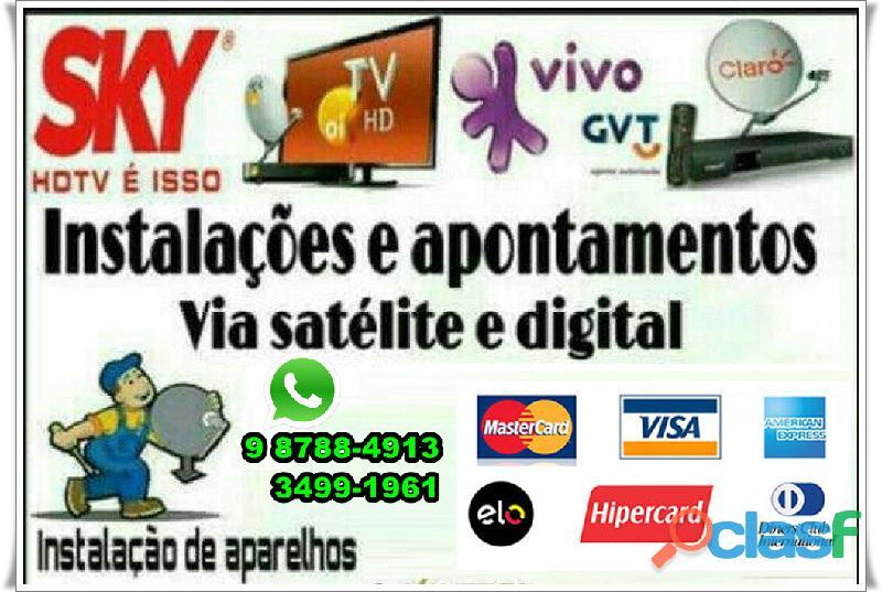 Telefone instalador de antena Barra de Jangada ligue 3443 8405