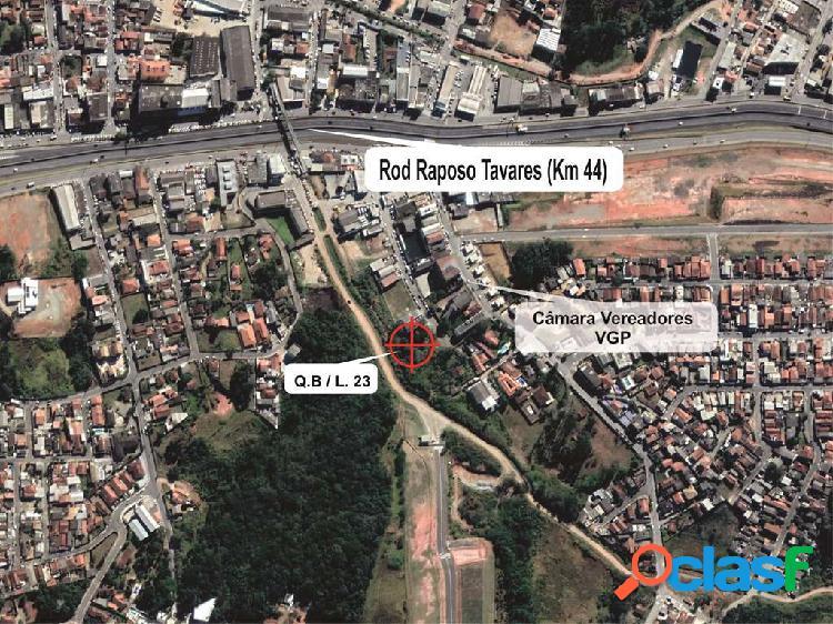 Terreno uso misto no centro de vargem grande paulista (km 44 rap. tavares)