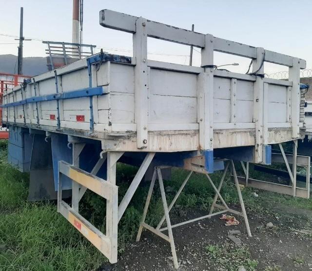 Carroceria de madeira para caminhão toco - 4,5 m