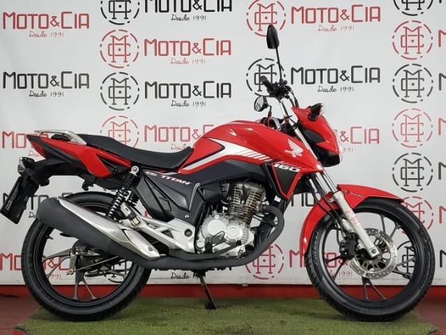 Honda titan 160 2018 2018 vermelha