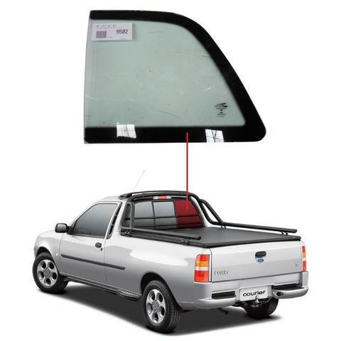 Vigia fixo direito ford courier 96/15 vidro traseiro direito