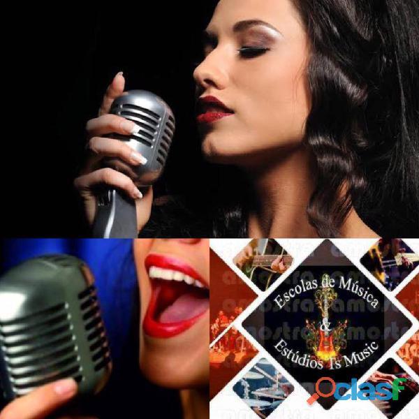 Aulas de canto popular