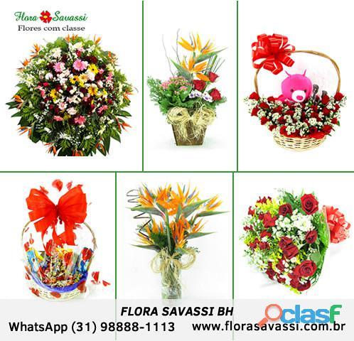Floricultura flores cesta de café e coroas em São Joaquim de Bica, Santana dos Montes FLORA SAVASSI