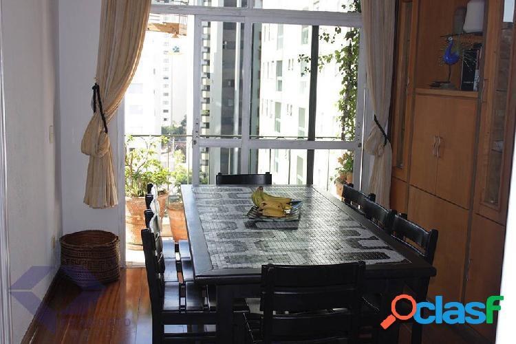Apartamento moema pássaros 166 metros 03 quartos 01 suíte 02 vagas