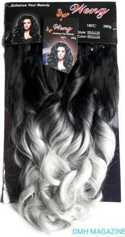 Cabelo organico weng ombre hair 260 gramas
