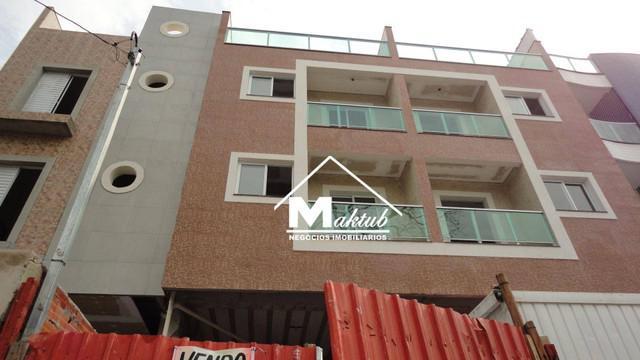 Cobertura com 2 dormitórios à venda, 120 m² por r$