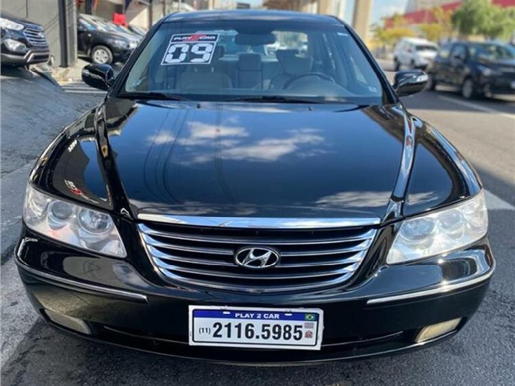 Hyundai azera 3.3 gls v6 preto 2008/2009 - curitiba 1684885