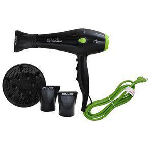 Secador de cabelo profissional volcano4200/2200w 110v-verde
