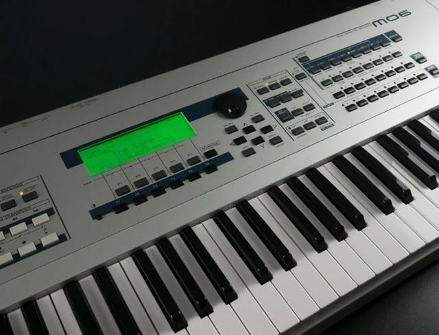 Teclado yamaha mo-6 mo6 61 teclas sons do motif