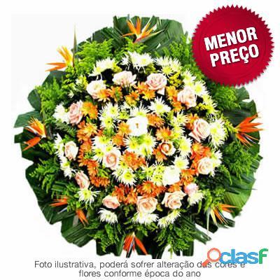 Coroa de flores coroa fúnebre para sepultamento em Belo Horizonte e cidades metropolitas de BH FLORA