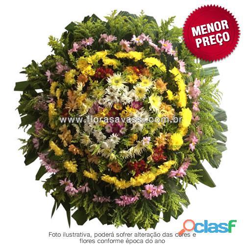 Floricultura entrega coroas de flore em Ribeirão das Neves MG, coroa fúnebre cemitério