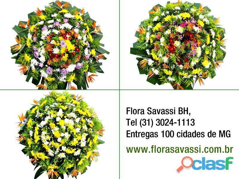 Itaúna MG Floricultura entrega coroas de flore em Itaúna MG, coroa fúnebre cemitério velórios