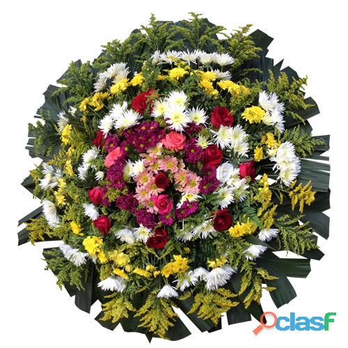 Paraopeba Floricultura entrega coroas de flore em Paraopeba MG, coroa fúnebre cemitérios