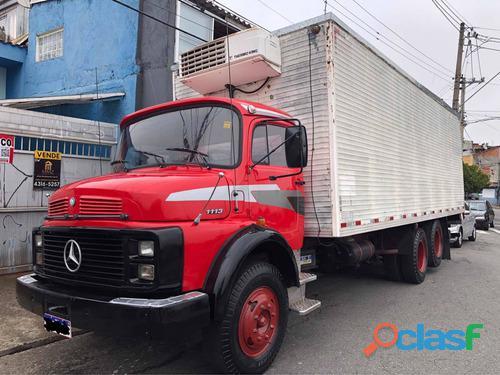 Caminhão Mercedes 1113 Baú Figorifico 6