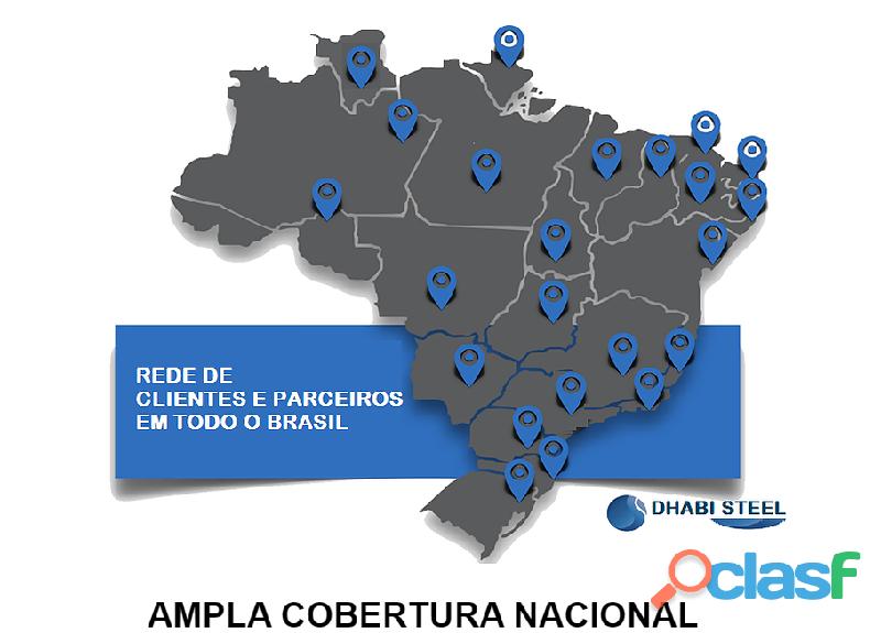 Ferro CA50 da Turquia eleva índice de venda no Sul do Brasil