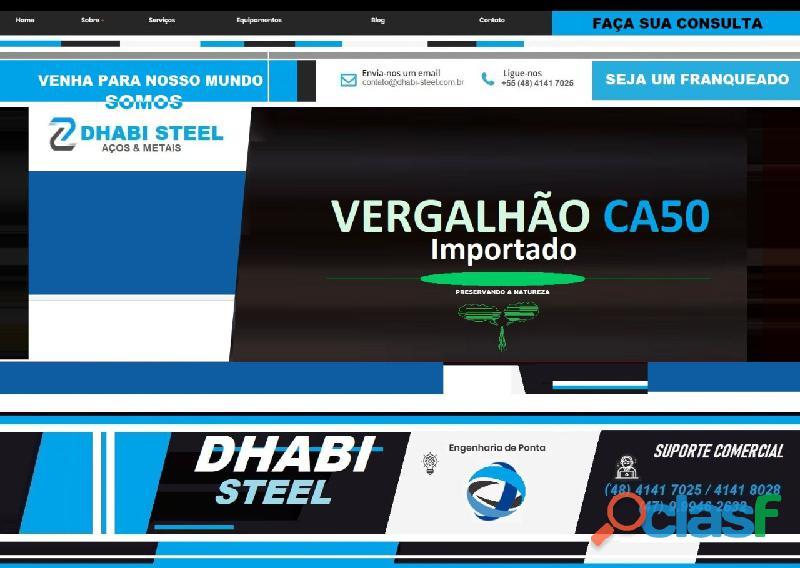 Ferro CA50 da Turquia eleva índice de venda no Sul do Brasil 2