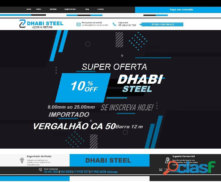 Ferro CA50 da Turquia eleva índice de venda no Sul do Brasil 6