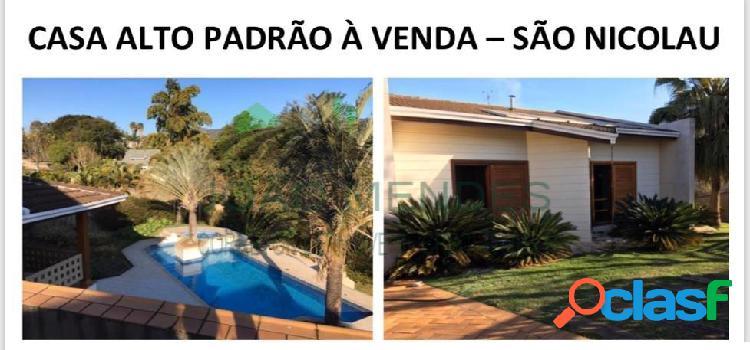 Casa à venda no São Nicolau, em Atibaia/SP.