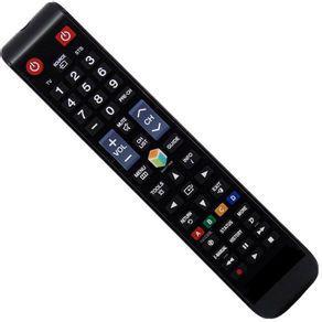 Controle remoto tv lcd/led samsung smart função 3d futebol