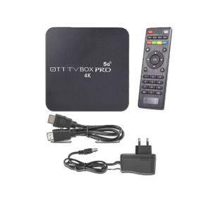 Conversor tv box smart 4k/64gb/5g android pro - smart tv