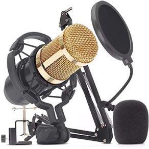 Microfone de estúdio profissional condensador - kpm0010