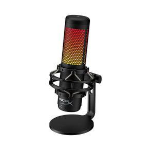 Microfone gamer rgb hyperx quadcast s hmiq1s-xx-rg/g usb