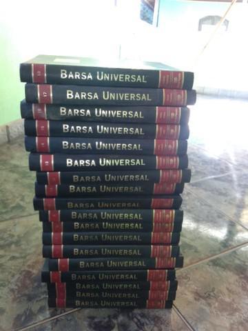 Coleção da enciclopédia barsa universal completa