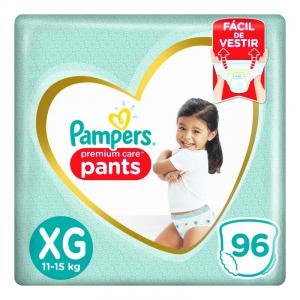 3 pacotes fralda descartável infantil pants pampers premium