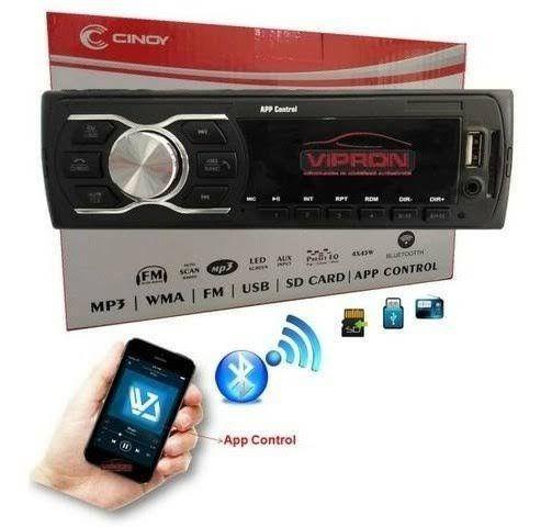 So nesta segunda: auto radio com bluetooth e pendrive (já