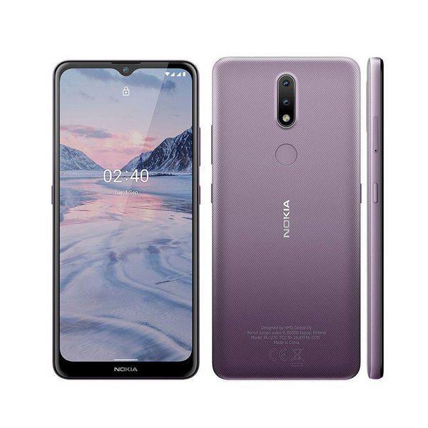 Smartphone nokia 2.4 nk015 - roxo- tela 6,5' hd+, ram 3gb,