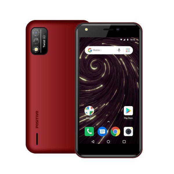 Smartphone twist fit s509 vermelho, tela 5/