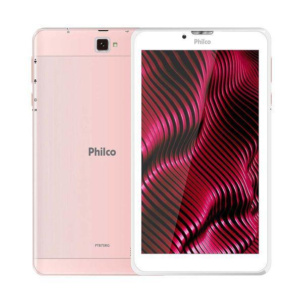 "Tablet 7/"" ptb7ssg 3g rosa, android 9.0, memória interna"