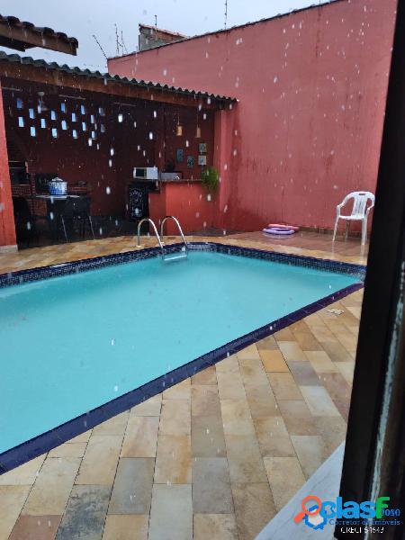 Casa ampla 4 dorms-piscina-local privilegiado-100m mar-cibratel 1-itanhaém-