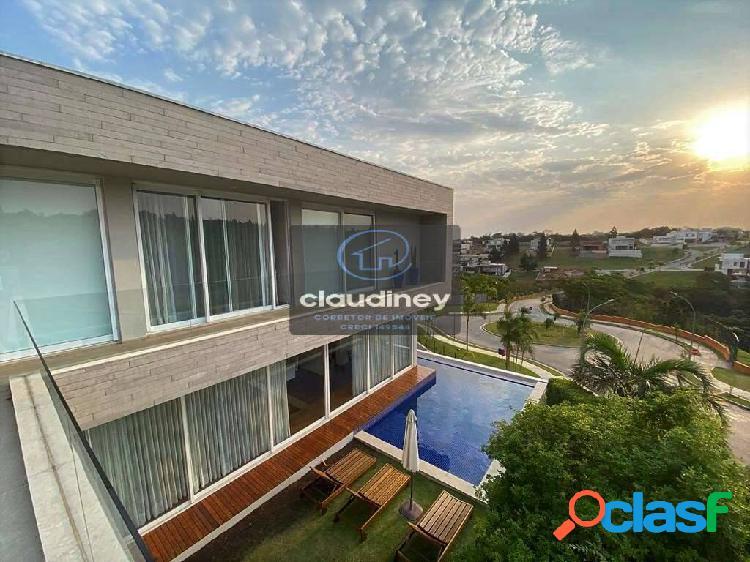 Alphaville gv - 4 suítes, moderna impecável, piscina, gourmet e vista!
