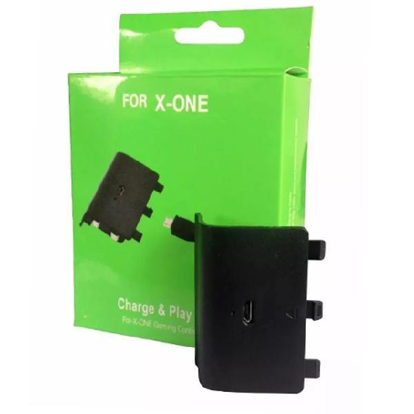 Bateria controle xbox one recarregável cabo usb carregador