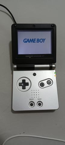 Gameboy Nintendo Advanced SP Edição Limitada com 3 jogos,