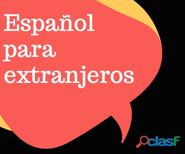 Aulas espanhol para estrangeiros