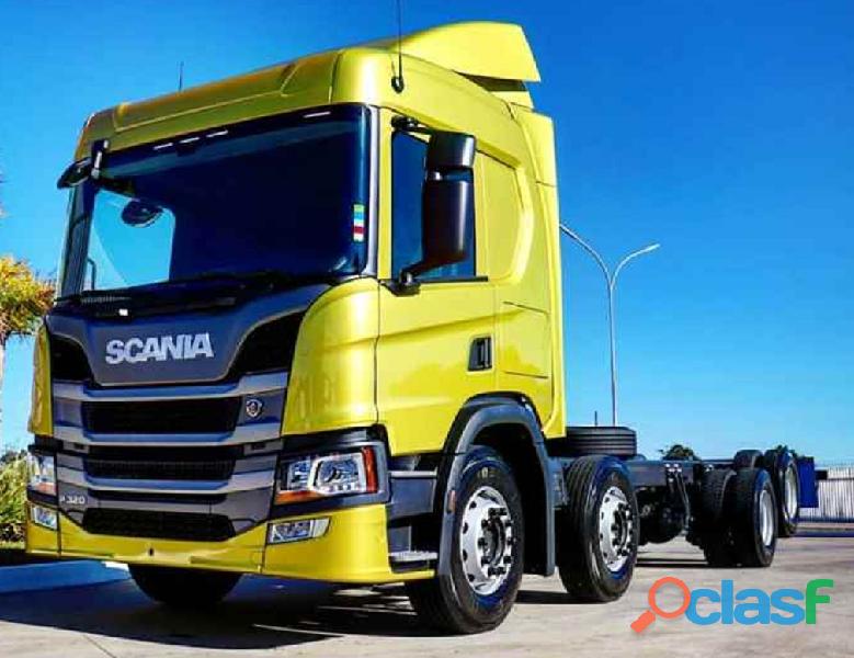 SCANIA P320 BITRUCK 8X2 AUTOMÁTICO COMPLETO 2021/20