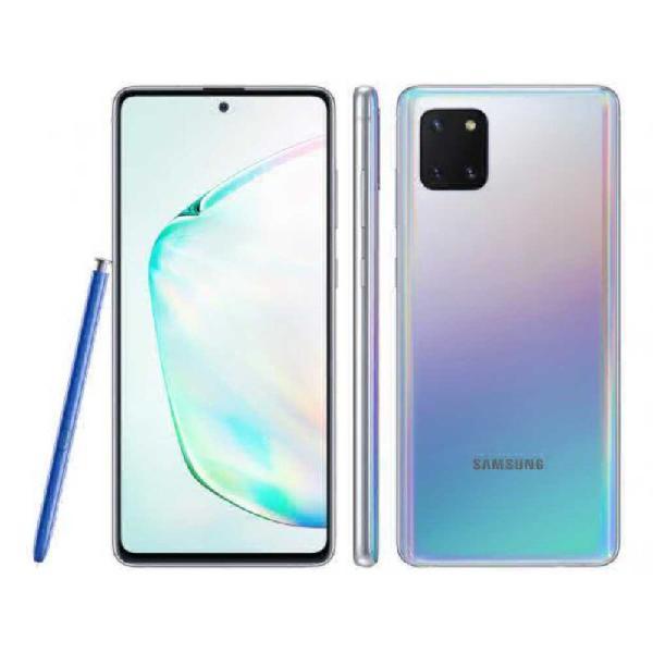 Reembalado smartphone samsung galaxy note 10 lite dual chip