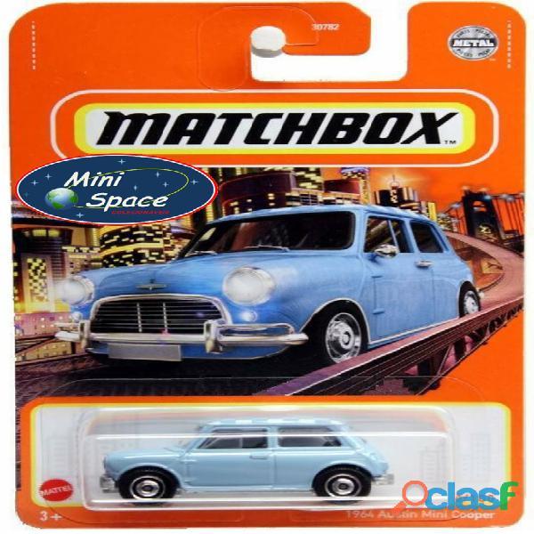 Matchbox 1964 Austin Mini Cooper Azul 1/64 10