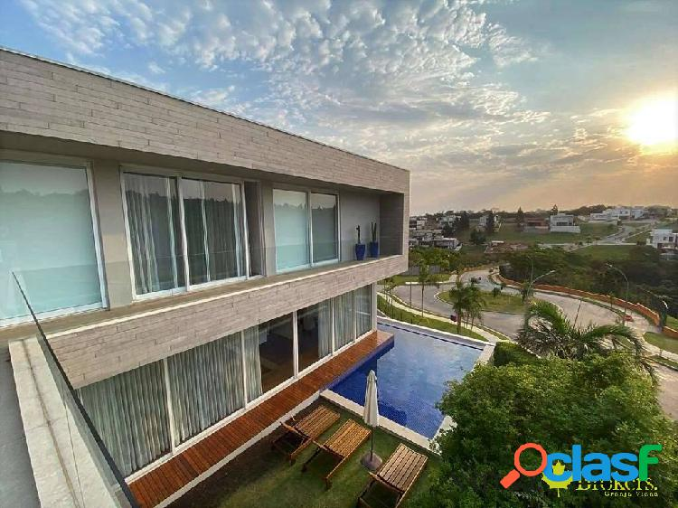 Alphaville gv - 4stes. moderna impecável, piscina, gourmet e vista!