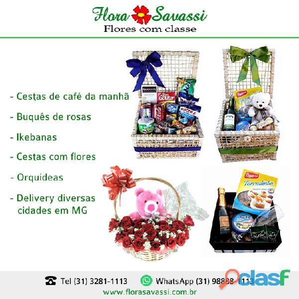 Cesta de café da Manhã em Caeté, São Gonçalo do Rio Abaixo, Brumadinho MG (31) 98888 1113