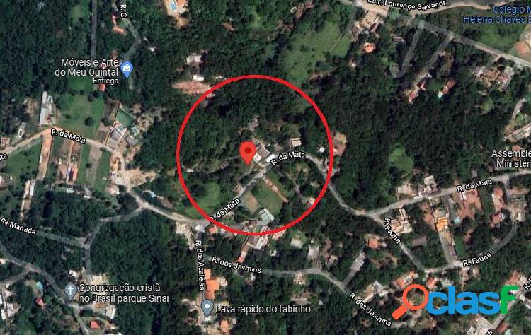 Terrenos em santana do parnaíba - bairro parque sinai 5x30 m2 18 lotes