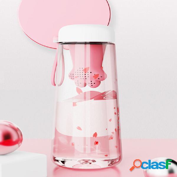 Copo cat claw cup pc com formato cat claw silicone chá filtro