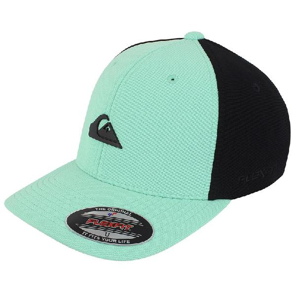 Boné quiksilver plate solid black liberty green - surf