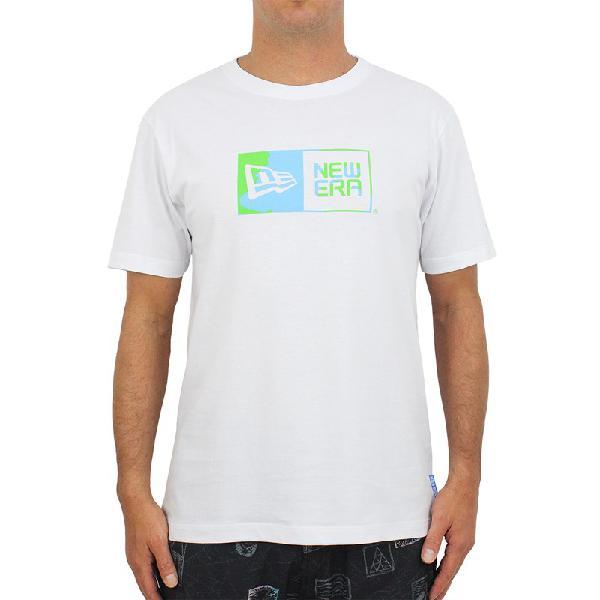 Camiseta new era green earth box white - surf alive