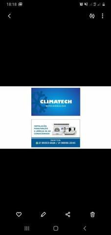 Instalação e manutenção de ar condicionado e elétrica
