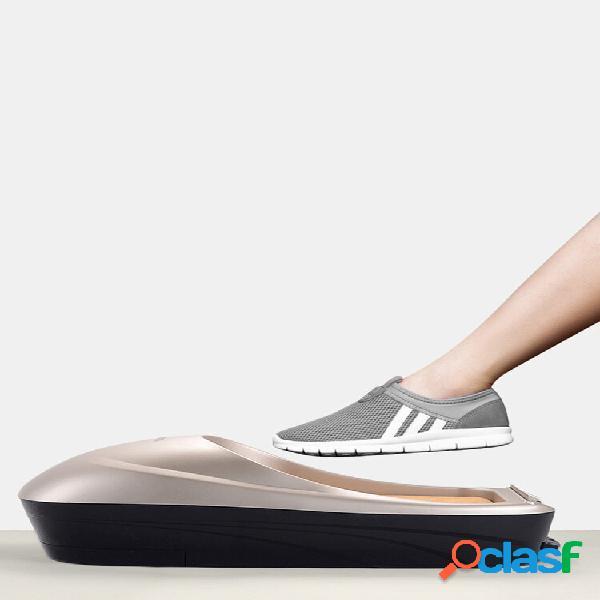 Máquina de filme para sapatos início automática nova tampa descartável para pés totalmente automática inteligente
