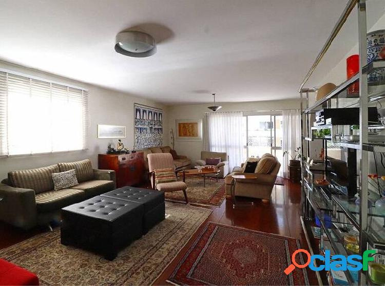Apartamento alto padrão à venda no jardim paulista com 3 suítes
